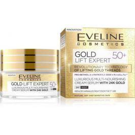 EVELINE GOLD LIFT Expert Denní/Noční krém 50+ 50ml Pleťové krémy