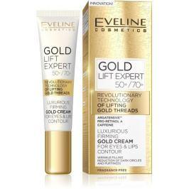 EVELINE GOLD LIFT Expert krém na oči a víčka 15ml Vrásky a stárnoucí pleť