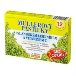Müllerovy pastilky s isl.lišejníkem bez cukru 12ks Na imunitu