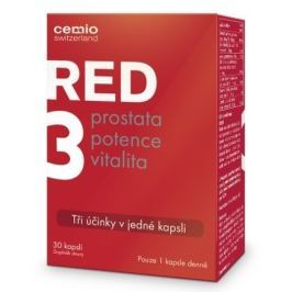 Cemio RED3 cps.30 Potence a prostata