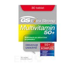 GS Extra Strong Multivitamin 50+ tbl.30 2017 Multivitamíny a multiminerály