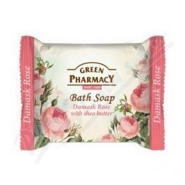 Mýdlo Damašská růže s bambusovým máslem 100g Tuhá mýdla