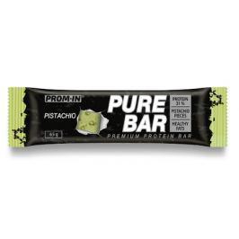 Prom-in Essential Pure Bar  pistácie 65g Proteinové tyčinky