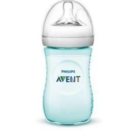 Láhev Natural 260 ml zelená, 1 ks Dětské lahve se savičkou
