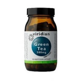 100% Organic Green Tea 90 kapslí Hubnutí a dieta