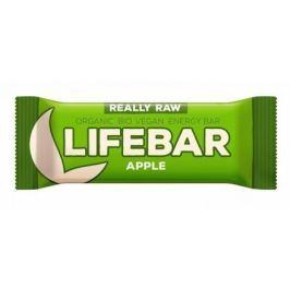 Lifebar tyčinka jablečná BIO 47 g Lifefood Sušenky a tyčinky