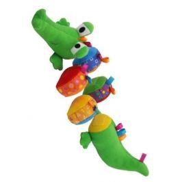 Plyšová edukační hračka Baby Mix krokodýl Edukační hračky