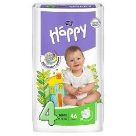 Happy Maxi dětské pleny 46 ks Jednorázové dětské pleny