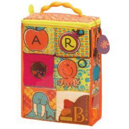 Textilní kostky ABC Block Party Dárky pro děti