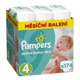 Pampers Active Baby Monthy Box S4 174ks Výprodej