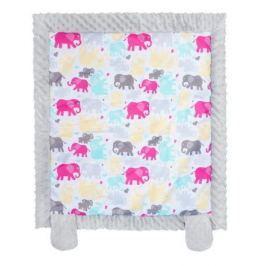 Dětská deka z Minky New Baby bílo-šedá 70x75 cm Přikrývky a deky