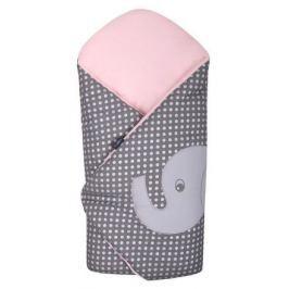 Vyšívaná zavinovačka Womar sloník růžová