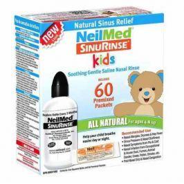 Sinus Rinse Kids 120ml+60sáčků Dětské nosní kapky
