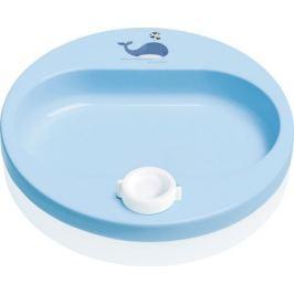 Ohřívací talíř Bébé-Jou Wally Whale dream blue