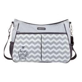 Luxusní přebalovací taška Bébé-Jou Chevron Grey Spinkání