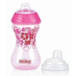 Netekoucí hrnek Clik-It 300ml růžový Dětské láhve, hrnečky