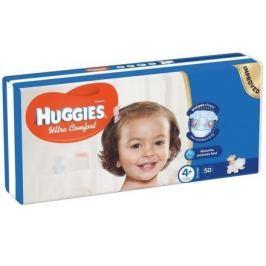 HUGGIES Ultra Comfort vel.4+ 50ks Jednorázové dětské pleny