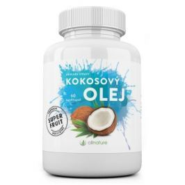 Kokosový olej kapsle Allnature 60 cps Rostlinné oleje a másla