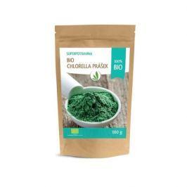 Allnature Chlorella prášek BIO RAW 100 g Bezlepkové potraviny