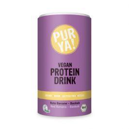 PURYA! Bio Vegan Protein drink červený banán/baobab 550 g Proteiny