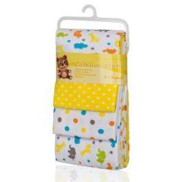 Látkové pleny, žluté žirafy