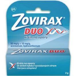 Zovirax Duo 50mg/g+10mg/g krém drm.crm. 1x2g Opary, afty