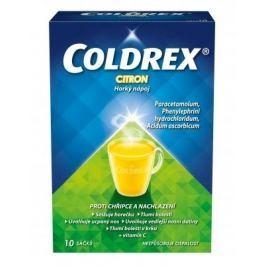 Coldrex Horký nápoj Citron por.plv.sol.scc.10 Výprodej ostatní