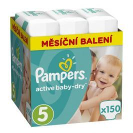 Pampers Active Baby Monthy Box S5 150ks