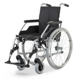 Vozík mechanický Basic FORMAT 3940, šíře sedu 48 cm, přítlačné brzdy