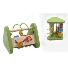 Dřevěná edukační hračka Baby Mix trojúhelník