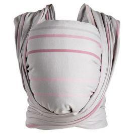 Šátek Womar na nošení dětí Be Close v Eko krabici růžovo-šedý