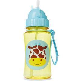 SKIP HOP Zoo Lahvička s brčkem Žirafa