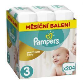 Pampers Premium Monthly Box S3 204ks