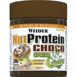Weider, Ořechovo proteinový čoko krém, 250g, Čokoláda/Křupavý oříšek