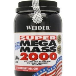 Weider, SUPER Mega Mass 2000, Gainer, 4500 g, Jahoda