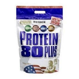 Weider, Protein 80 Plus, 2000 g, Lískový ořech - Nugát