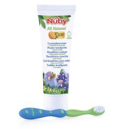 Zubní pasta pro děti 45g + zubní kartáček 24m+