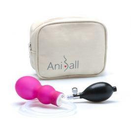 Aniball - zdrav. pomůcka pro těhotné - tmavě růž.