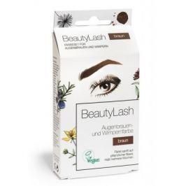 BeautyLash Sensitive Sada pro barvení řas a obočí - Hnědá