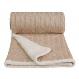 Pletená deka, béžová