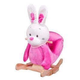 Houpací hračka PlayTo králíček růžová