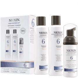 Nioxin Hair System 6 - Cleanser Shampoo 150 ml, Scalp Revitaliser Conditioner 150 ml,  Scalp Treatment 50 ml