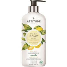 Přírodní mýdlo na ruce ATTITUDE Super leaves s detoxikačním účinkem - citrusové listy 473 ml