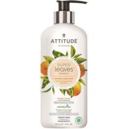 Přírodní mýdlo na ruce ATTITUDE Super leaves s detoxikačním účinkem - pomerančové listy 473 ml