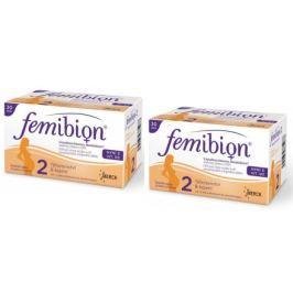 Femibion 2 s vit. D3 tbl.30 + tob.30 dvojbalení
