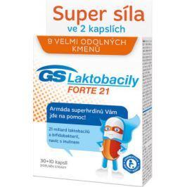 GS Laktobacily Forte21 cps.30+10 2017