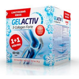 GelActiv 3-Collagen Forte cps.60+60Zdarma Dár.2017