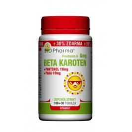 Beta Karot.6mg+Pantenol 10mg+PABA 10mg tob.100+30
