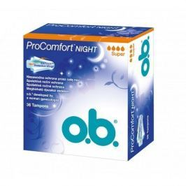 o.b. tampóny Pro Comfort Night Super 36 ks