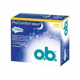 o.b. tampóny Pro Comfort Night normal 48 ks
